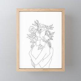Blossom Hug Framed Mini Art Print