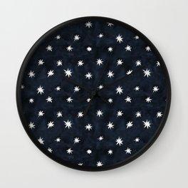 Midnight Starlet Wall Clock