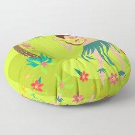 Hula Honey Floor Pillow