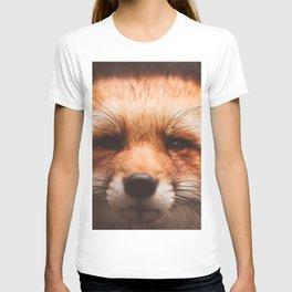 Red fox 2 T-shirt