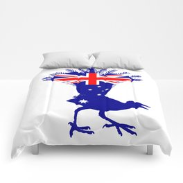 Australian Flag - Lyrebird Comforters