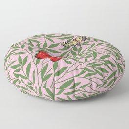 Papillons, butterflies Floor Pillow