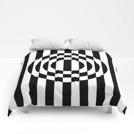 Hot Spot    Black & White Comforters