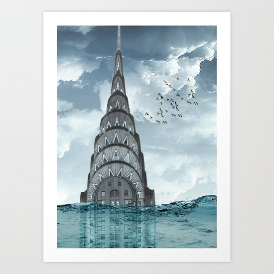 above the water line Art Print