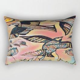 Season  Of The Swifts Rectangular Pillow
