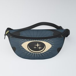 Midnight Cats Doing Their Dark Business Fanny Pack
