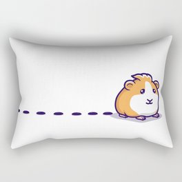 Guinea Pig Pellet Rectangular Pillow
