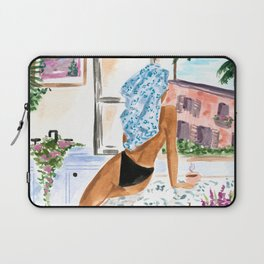 A Peaceful Morning Laptop Sleeve