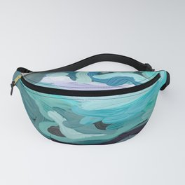 Abstract Digital Painting Design by Hxlxynxchxle Fanny Pack
