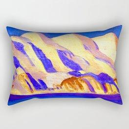 Rockwell Kent Alaska Impression Rectangular Pillow
