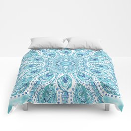 MMMOYSTERS Oyster Mandala Comforters