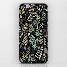 Dark Botanic iPhone Skin