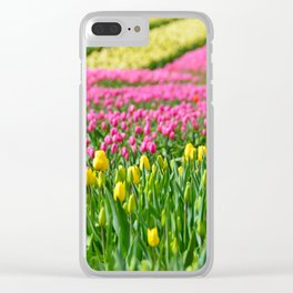 Fields of Colors Clear iPhone Case