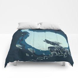 Goku's Kamehameha Comforters