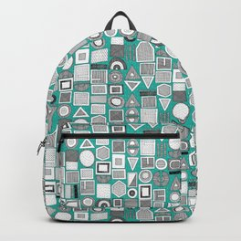 frisson memphis bw aqua dash Backpack