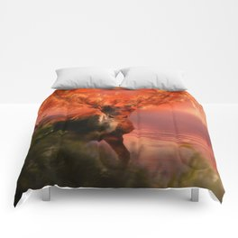 Deer on Fire by GEN Z Comforters