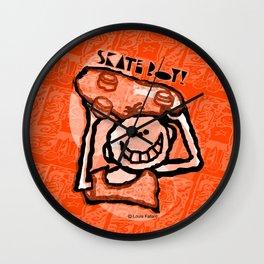 Skate Boy 6 Wall Clock