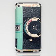 Blue Diana Mini Camera - Retro Vintage Photography iPhone & iPod Skin