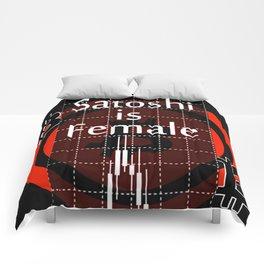 Satoshi is Female I Comforters