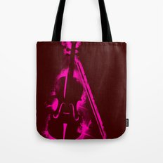 Painted Violin Tote Bag