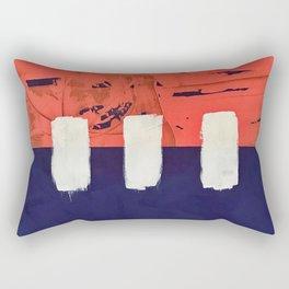 Stitch in Time - diamond graphic Rectangular Pillow
