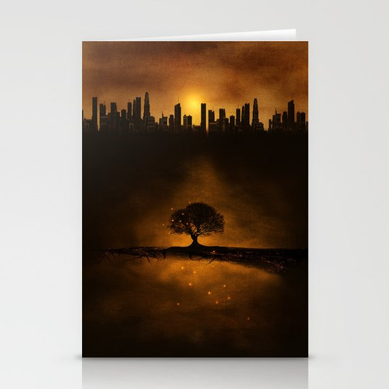 underground energy Stationery Cards