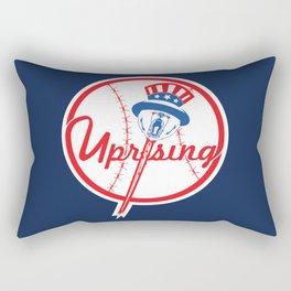 the NY uprising Rectangular Pillow