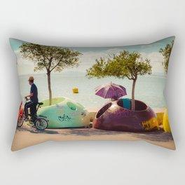 Bicyle Rectangular Pillow