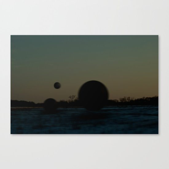 what we'll do from now on Canvas Print