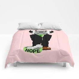 Pug Nope Comforters