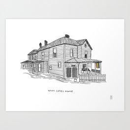 Homo Sweet Homie Art Print