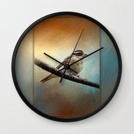 Wisconsin Songbird ~ Ginkelmier Inspired Wall Clock