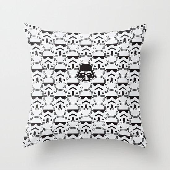 The Dark One Throw Pillow