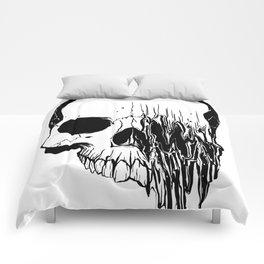 Skull (Distortion) Comforters