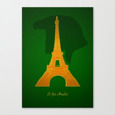 A is for Ameilé Canvas Print
