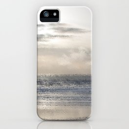 Silver Scene ~ Ocean Ripple Effect iPhone Case