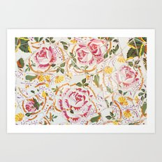 Tiling with pattern 7 Art Print
