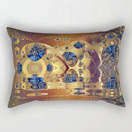 Tide Pool Fractal Rectangular Pillow