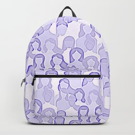Together Strong - Women Power Light Purple Backpack