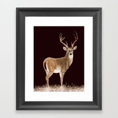 The Stag (painting) Framed Art Print