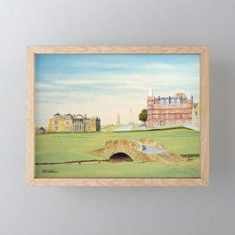 St Andrews Golf Course 18th Hole Framed Mini Art Print