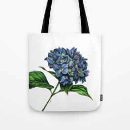 Realistic Hydrangea Drawing Tote Bag