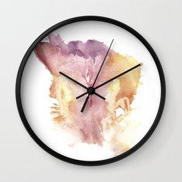 Verronica Kirei's Vulva Monotype Print Wall Clock