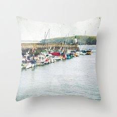 Houat #7 Throw Pillow