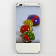 Vintage Lady Bird Family iPhone & iPod Skin