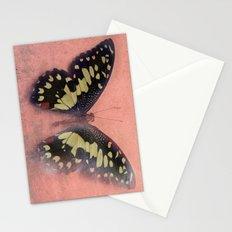 Vintage Butterfly 3 Stationery Cards