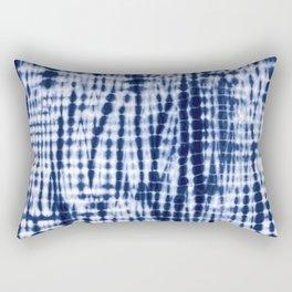 Shibori Tie Dye Pattern Rectangular Pillow