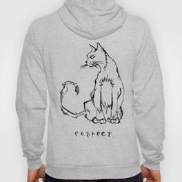 """Respect"" (Cat) Hoody"
