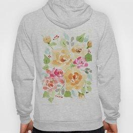 Suede Roses Hoody