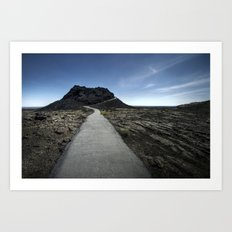 craters of the moon. Art Print
